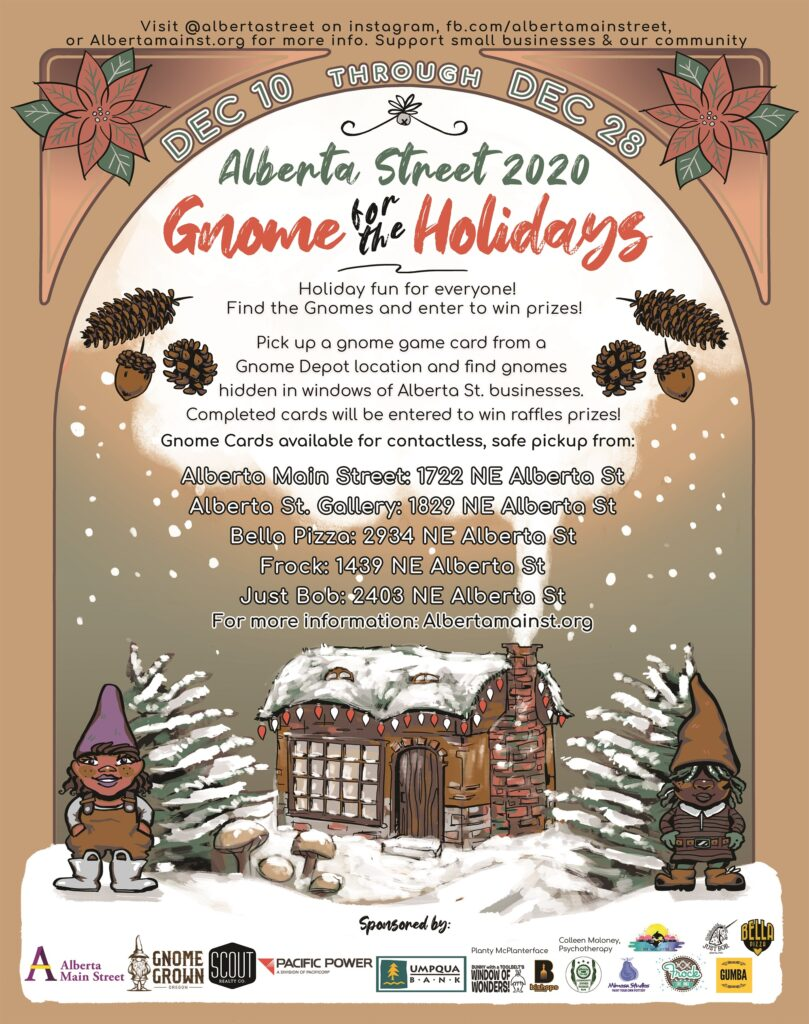 A Whole Month of December Merriment on Alberta Street!